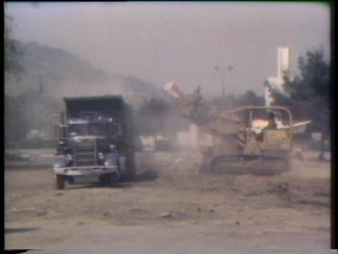 stockvideo's en b-roll-footage met demolition company tears down the wrong house in la puente, california. - puente