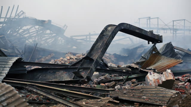 demolition - postwar stock videos & royalty-free footage