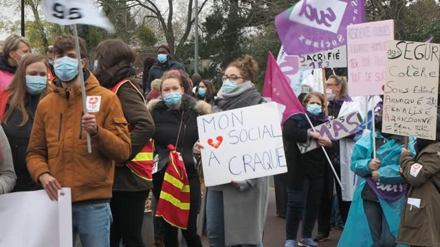 FRA: National Strike Day In The Social And Medico-Social Sector