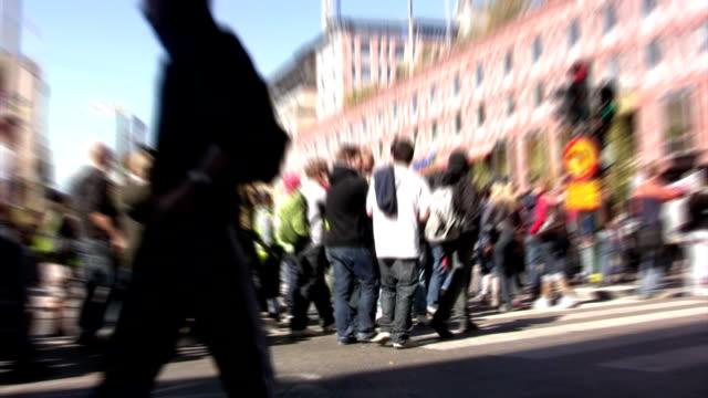 demonstrations - stockholm bildbanksvideor och videomaterial från bakom kulisserna