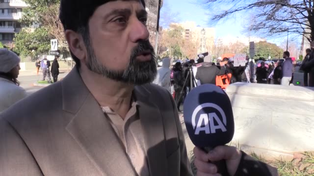 demonstrators gather outside the embassy of the kingdom of saudi arabia to protest the recent executions of 47 prisoners, including sheik nimr... - prisoner stock videos & royalty-free footage
