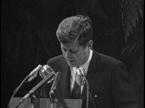 denies us complicity in bay of pigs invasion jfk makes a speech in a bust shot. he says, president of a great democracy such as ours and the editors... - john f. kennedy us president stock videos & royalty-free footage