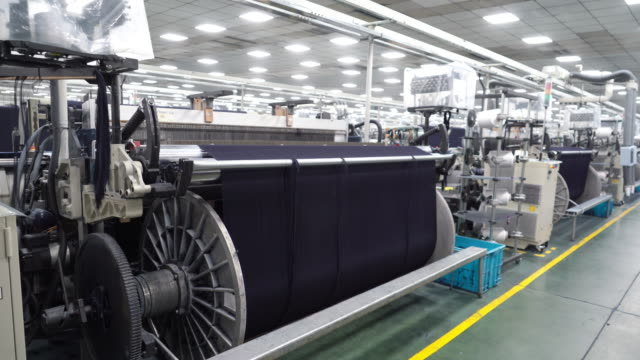 denim textile industry - textile industry stock videos & royalty-free footage