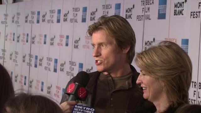 denis leary at the 7th annual tribeca film festival finding amanda premiere at borough of manhattan community college / tribeca performing arts in... - community college stock videos & royalty-free footage