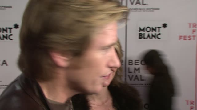 Denis Leary on supporting Peter his up coming projects and how he is looking forward to the movie at the 7th Annual Tribeca Film Festival Finding...