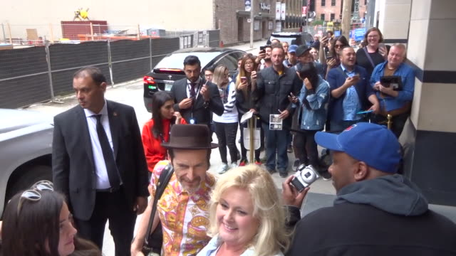 denis o'hare at the toronto international film festival in toronto in celebrity sightings in toronto, - toronto international film festival stock videos & royalty-free footage