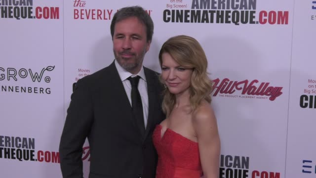 vídeos de stock e filmes b-roll de denis villeneuve and tanya lapointe at the 31st annual american cinematheque awards honoring amy adams at the beverly hilton hotel on november 10... - cinemateca americana