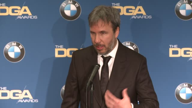 interview denis villeneuve at 69th annual directors guild of america awards in los angeles ca - directors guild of america awards stock videos & royalty-free footage