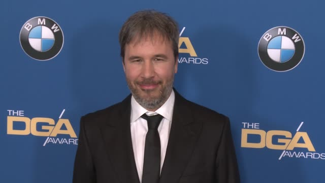 denis villeneuve at 69th annual directors guild of america awards in los angeles, ca 2/4/17 - director's guild of america stock videos & royalty-free footage