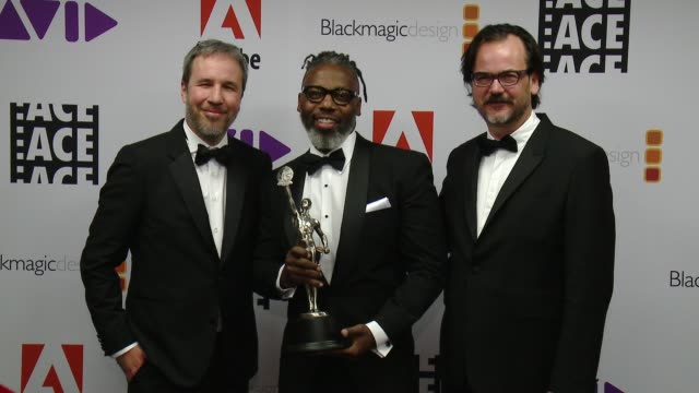 Denis Villeneuve James Wilcox Joe Walker at 68th Annual ACE Eddie Awards in Los Angeles CA