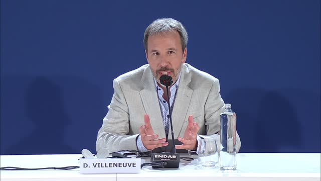 denis villeneuve on the biggest challenges of making 'dune' and whether a second part will be made on september 2, 2021 in venice, italy. - press room stock videos & royalty-free footage