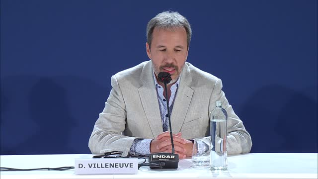 denis villeneuve on wanting 'dune' to send out a warning on human damage to the environment on september 2, 2021 in venice, italy. - press room stock videos & royalty-free footage