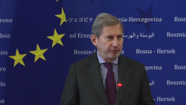 Denis Zvizdic chairman of the Council of Ministers of Bosnia and Herzegovina and European Commissioner for European Neighbourhood Policy and...