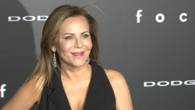 stockvideo's en b-roll-footage met denise di novi at the focus los angeles premiere at tcl chinese theatre on february 24 2015 in hollywood california - mann theaters