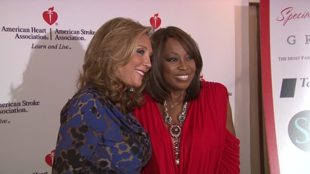 denise rich and star jones at the star jones attends 'celebrity apprentice' premiere for american heart association at new york ny. - star jones stock videos & royalty-free footage