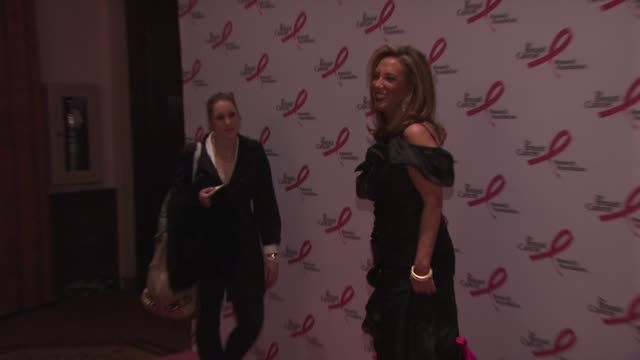 denise rich at the 2010 breast cancer research foundation's hot pink party - arrivals at new york ny. - hot pink stock videos & royalty-free footage