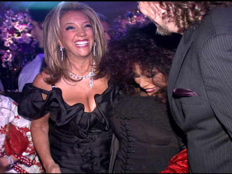 denise rich at the denise rich marks 10th year of the gp foundation with an evening of stars and music at the 2007 angel ball at marriott marquis... - marriott marquis new york stock videos & royalty-free footage