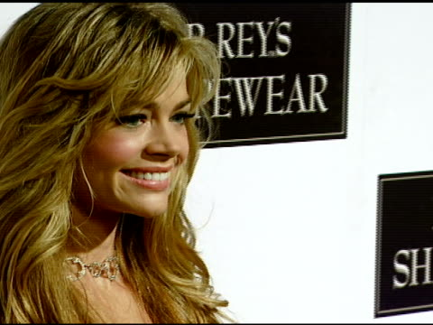 denise richards at the dr robert rey and bruno schiavi celebrate shapewear launch hosted by carmen electra and denise richards at opera in hollywood... - carmen electra stock videos and b-roll footage
