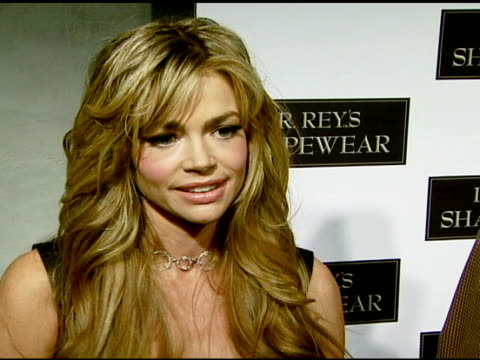 denise richards on what shapewear does for her body her halloween plans what she's dressing up as and her favorite halloween memory at the dr robert... - carmen electra stock videos and b-roll footage