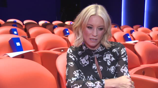 denise van outen on safe diet, xls tablets, new found confidences, keeping slim, turning 40, strictly come dancing, being on eastenders, going back... - seifenoper stock-videos und b-roll-filmmaterial