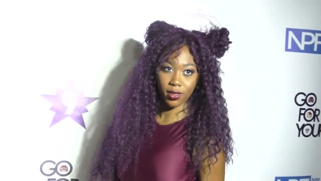 stockvideo's en b-roll-footage met denisha hardeman at the 9th annual manifest your destiny toy drive and fundraiser on december 05, 2016 in hollywood, california. - manifest destiny