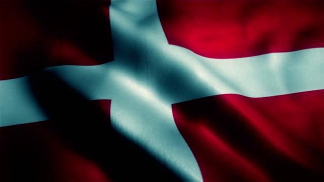 vídeos y material grabado en eventos de stock de bandera de dinamarca, la bandera danesa - danish flag