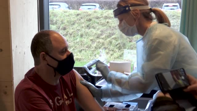 denmark leads the eu in vaccinations against the novel coronavirus thanks to a swift and smooth roll-out, and even more people would have got the jab... - oresund region stock videos & royalty-free footage
