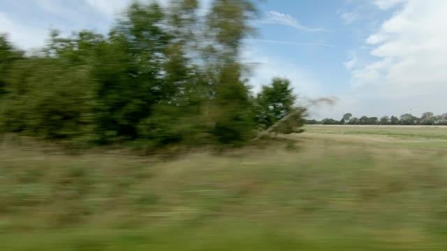 vidéos et rushes de danemark lolland iii série synchronisée plaque de conduite vue droite - part of a series