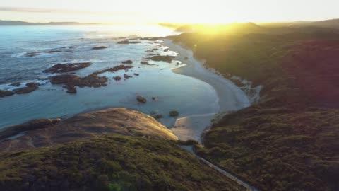 vidéos et rushes de denmark western australia - baie eau