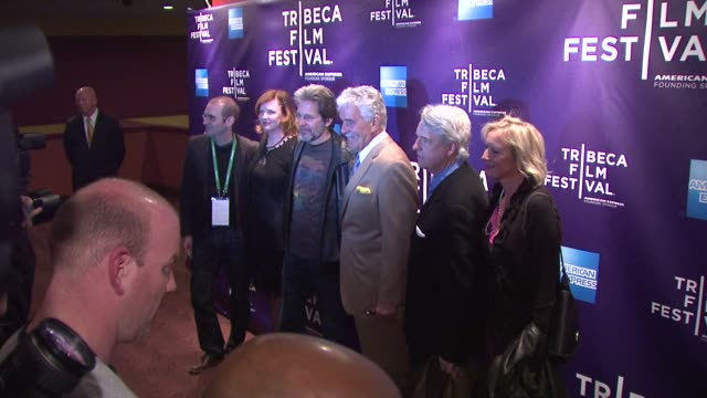 Dennis Farina and guests at the 2011 Tribeca Film Festival Shorts Program One For All at New York NY