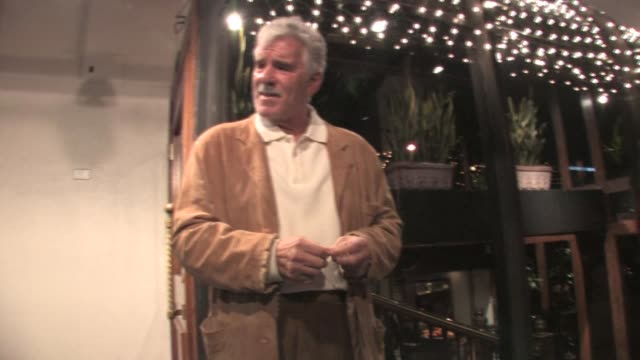 Dennis Farina at Madeo in West Hollywood at the Celebrity Sightings in Los Angeles at Los Angeles CA
