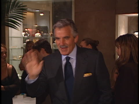 dennis farina at the aaron spelling holiday bash at beverly hilton - spelling stock videos & royalty-free footage