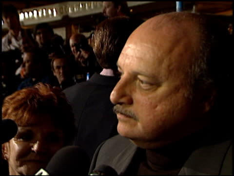 Dennis Franz at the 'City of Angels' Premiere at the Mann Village Theatre in Westwood California on April 8 1998