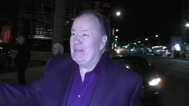 dennis haskins arrives at the living among us premiere at ahrya fine arts theater in beverly hills in celebrity sightings in los angeles - dennis haskins stock videos and b-roll footage