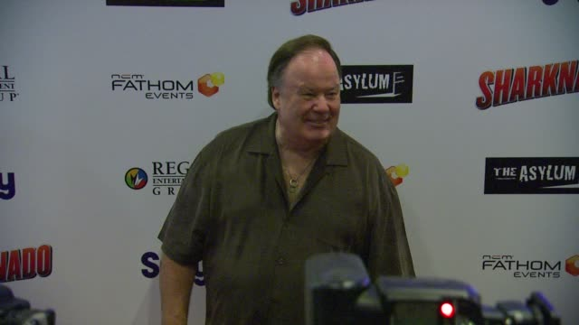 dennis haskins at sharknado los angeles premiere on 8/2/2013 in los angeles ca - dennis haskins stock videos and b-roll footage