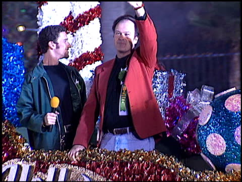 dennis haskins at the hollywood christmas parade on december 3 1995 - dennis haskins stock videos and b-roll footage