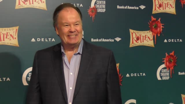 dennis haskins at the opening night of 'something rotten' on november 21 2017 in los angeles california - dennis haskins stock videos and b-roll footage