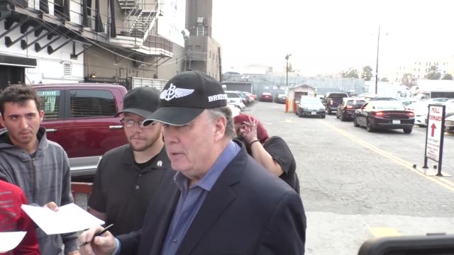 dennis haskins outside avalon in hollywood in celebrity sightings in los angeles - dennis haskins stock videos and b-roll footage