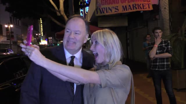 interview dennis haskins talks about the women of wrestling coming back outside the big brother 18 cast finally party at cliftons in los angeles at... - dennis haskins stock videos and b-roll footage