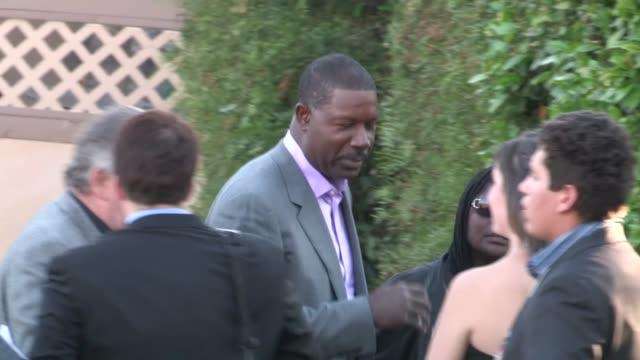 Dennis Haysbert arrives at 2012 Saturn Awards in Burbank at Celebrity Sightings in Los Angeles Dennis Haysbert arrives at 2012 Saturn Awards in B on...