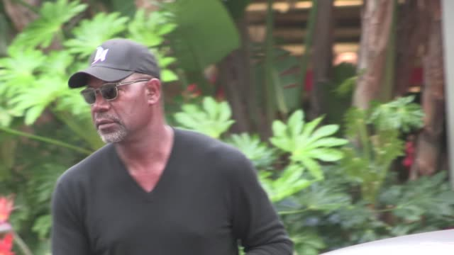 Dennis Haysbert arrives at Staples Center in Los Angeles 03/30/12