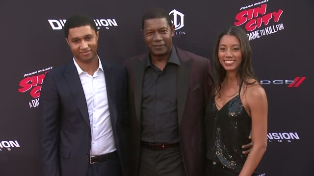 Dennis Haysbert at Sin City A Dame To Kill For Los Angeles Premiere at TCL Chinese Theatre on August 19 2014 in Hollywood California