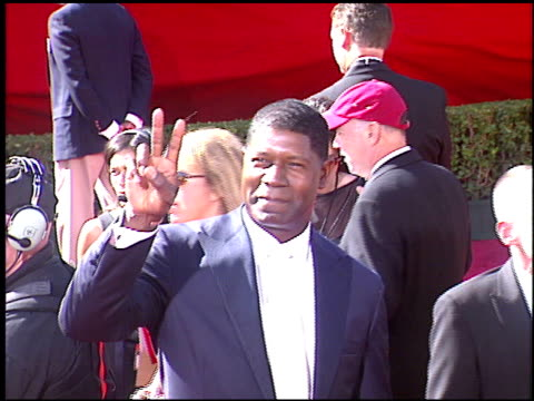 Dennis Haysbert at the 2004 Emmy Awards Arrival at the Shrine Auditorium in Los Angeles California on September 19 2004
