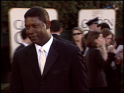 Dennis Haysbert at the 2004 Golden Globe Awards at the Beverly Hilton in Beverly Hills California on January 25 2004