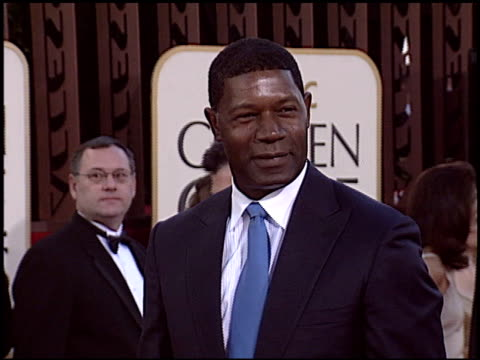 Dennis Haysbert at the 2005 Golden Globe Awards at the Beverly Hilton in Beverly Hills California on January 16 2005
