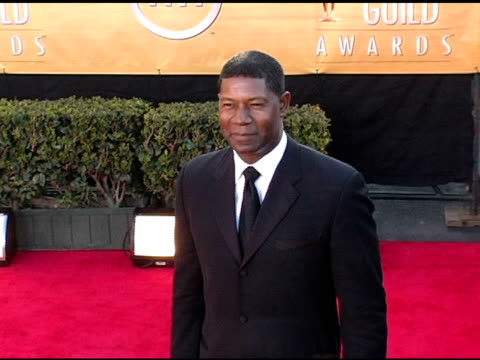 Dennis Haysbert at the 2005 Screen Actors Guild SAG Awards Arrivals at the Shrine Auditorium in Los Angeles California on February 5 2005