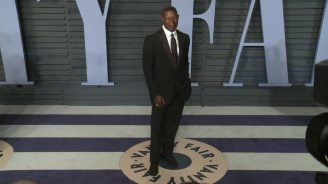 Dennis Haysbert at the 2018 Vanity Fair Oscar Party on March 04 2018 in Beverly Hills California
