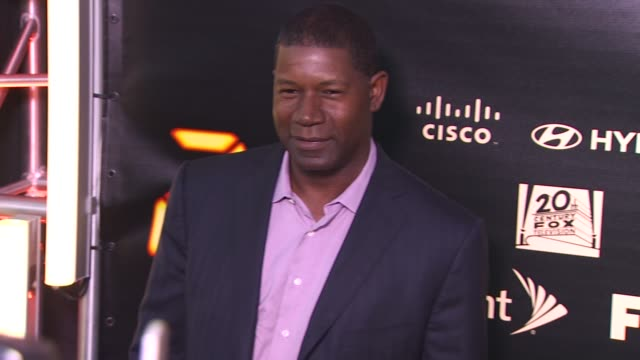 Dennis Haysbert at the '24' Series Finale Party at Hollywood CA