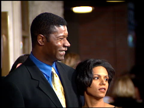 Dennis Haysbert at the 'Absolute Power' Premiere at the Mann Festival Theater in Westwood California on February 4 1997