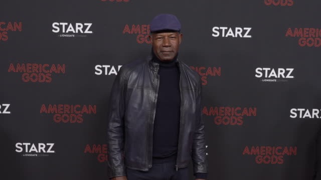 Dennis Haysbert at the Los Angeles Red Carpet and Premiere of 'American Gods' at Ace Hotel on March 05 2019 in Los Angeles California